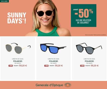 Générale Optique Jusqu'à -50%