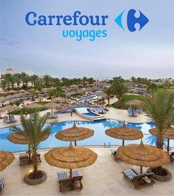 Promos de Voyages dans le prospectus à Carrefour Voyages ( Expire ce jour)