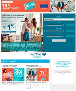 Promos de Banques et Assurances dans le prospectus de Carrefour Banque à Nice ( 4 jours de plus )