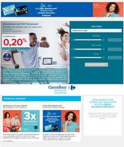 Promos de Banques et Assurances dans le prospectus de Carrefour Banque à Marseille ( 22 jours de plus )