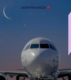 Promos de Air France dans le prospectus à Paris
