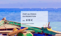 Promos de Air France dans le prospectus à Paris