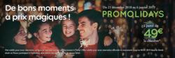 Promos de Restaurants dans le prospectus de Campanile à Annecy
