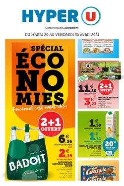 Promos de Hyper-Supermarchés dans le prospectus à Hyper U ( Publié hier )