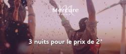 Promos de Mercure Hotel dans le prospectus à Paris