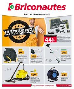 Promos de Bricolage dans le prospectus à Les Briconautes ( 2 jours de plus)