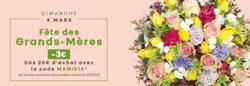 Promos de Jardinage et Animaleries dans le prospectus de Le Jardin des Fleurs à Lyon