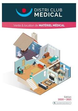 Promos de Santé et Opticiens dans le prospectus à Distri Club Médical ( Plus d'un mois)