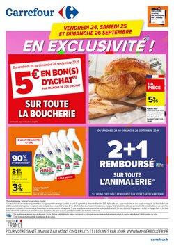 Promos de Hyper-Supermarchés dans le prospectus à Carrefour Drive ( Nouveau)