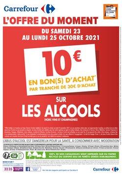 Promos de Hyper-Supermarchés dans le prospectus à Carrefour Drive ( Expire demain)