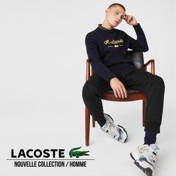 Promos de Marques de luxe dans le prospectus à Lacoste ( Plus d'un mois)