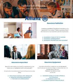 Promos de Banques et Assurances dans le prospectus de Allianz à Nice ( 28 jours de plus )