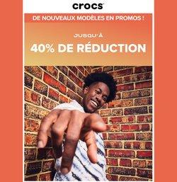 Promos de Crocs dans le prospectus à Crocs ( 12 jours de plus)