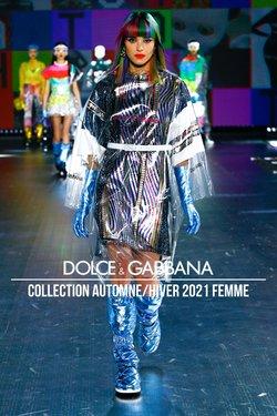 Promos de Dolce & Gabbana dans le prospectus à Dolce & Gabbana ( Plus d'un mois)