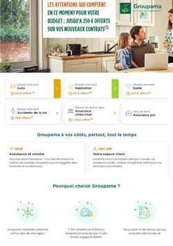 Promos de Banques et Assurances dans le prospectus à Groupama ( Plus d'un mois )