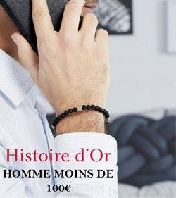 Promos de Bijouteries dans le prospectus à Histoire d'Or ( 2 jours de plus)