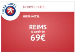 Promos de Voyages dans le prospectus de Inter Hotel à Lyon