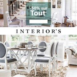 Interior's coupon ( 3 jours de plus)