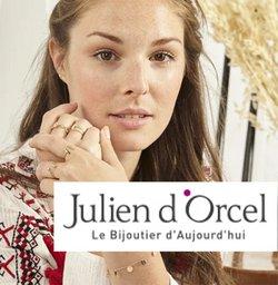 Promos de Bijouteries dans le prospectus à Julien d'Orcel ( 4 jours de plus)