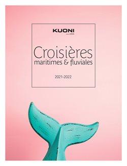 Promos de Voyages dans le prospectus de Kuoni à Cergy ( Plus d'un mois )