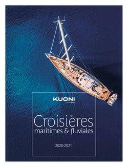 Promos de Voyages dans le prospectus à Kuoni ( Plus d'un mois)
