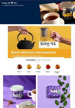Promos de Hyper-Supermarchés dans le prospectus de Kusmi Tea à Paris ( Expire ce jour )