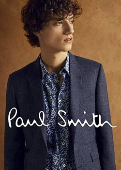 Promos de Paul Smith dans le prospectus à Paris
