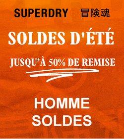 Promos de Superdry dans le prospectus à Superdry ( 26 jours de plus)