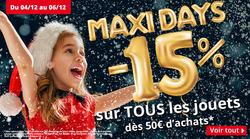 Maxi Toys coupon à Cergy ( Expire ce jour )