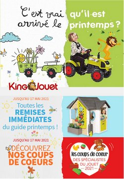 King Jouet coupon ( 2 jours de plus )