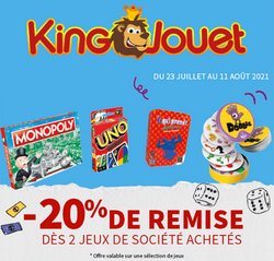 Promos de King Jouet dans le prospectus à King Jouet ( 5 jours de plus)