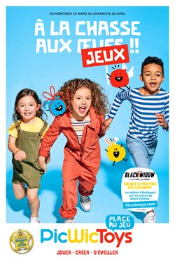 PicWicToys coupon ( Expiré )