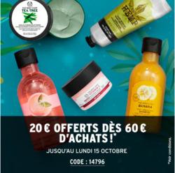 Promos de The Body Shop dans le prospectus à Paris