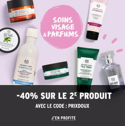 The Body Shop coupon à Nice ( Expire demain )