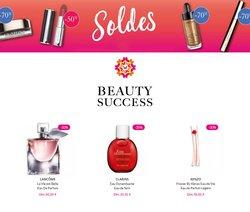 Promos de Parfumeries et Beauté dans le prospectus à Beauty Success ( 4 jours de plus)