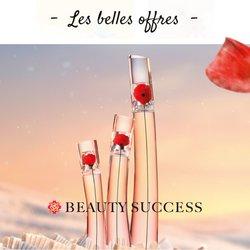 Promos de Parfumeries et Beauté dans le prospectus à Beauty Success ( Expire demain)