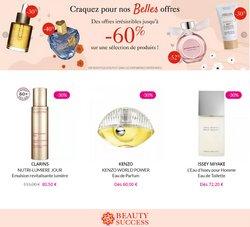 Promos de Parfumeries et Beauté dans le prospectus à Beauty Success ( 3 jours de plus)