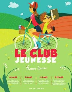 Promos de Librairies dans le prospectus à France Loisirs ( Expire ce jour)