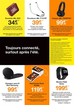 Promos de Smart tv dans le prospectus de Orange à Paris