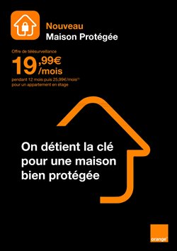 Promos de Maison et Décoration dans le prospectus de Orange à Saint-Germain-en-Laye
