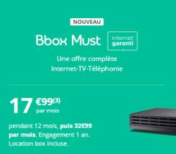 Promos de Bouygues Telecom dans le prospectus à Salon-de-Provence