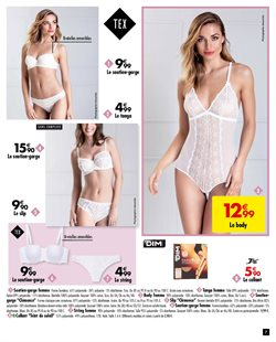 Promos de Collants dans le prospectus de Carrefour à Paris