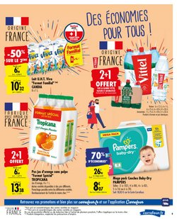 Pampers à Carrefour