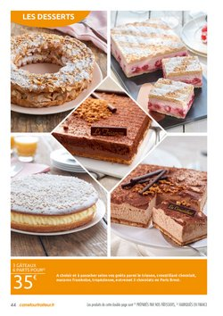 Gâteaux à Carrefour