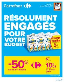 Promos de soldes dans le prospectus à Carrefour ( 8 jours de plus)