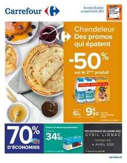 Promos de Hyper-Supermarchés dans le prospectus de Carrefour à Brest ( 12 jours de plus )