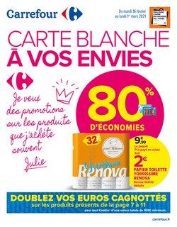 Promos de Hyper-Supermarchés dans le prospectus de Carrefour à Toulouse ( 3 jours de plus )