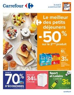 Promos de tirage au sort dans le prospectus à Carrefour ( 5 jours de plus)