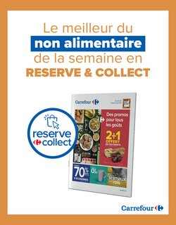 Promos de Hyper-Supermarchés dans le prospectus à Carrefour ( Nouveau )