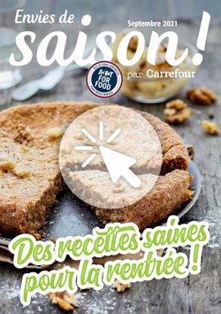 Promos de Hyper-Supermarchés dans le prospectus à Carrefour ( 3 jours de plus)